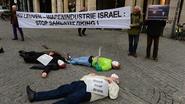 Actie tegen samenwerking met Israëlische wapenindustrie
