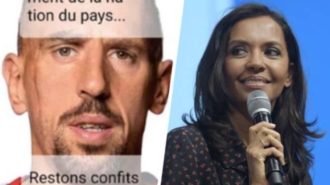 Franck Ribéry klaagt presentatrice aan die hem uitlacht om zijn gebrekkig Frans