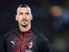Zlatan touché à l'entraînement, l'AC Milan craint une blessure sérieuse