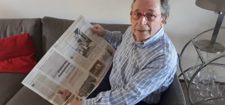 Foto in de krant bezorgt Enschedese Richard rillingen: 'De oorlog is nooit ver weg'