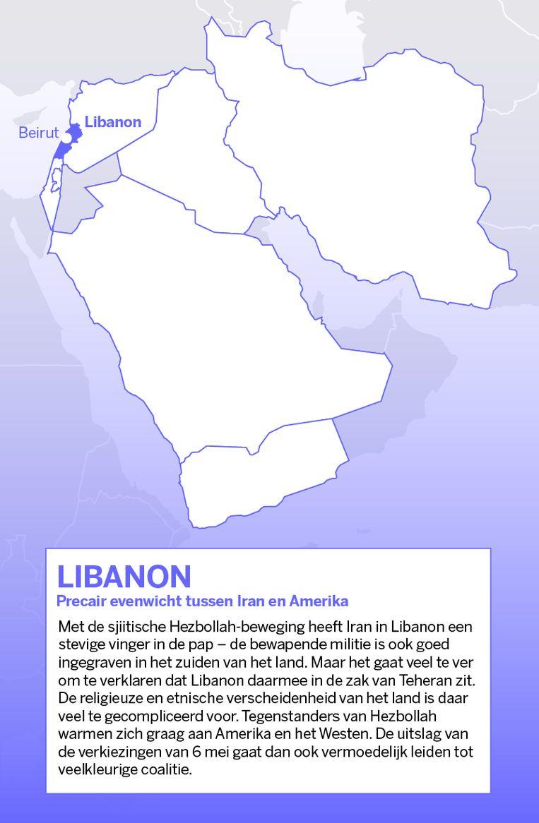 Libanon. Beeld