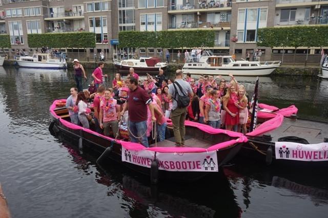Met de kermis was er ook al een 'gay-evenement' in de haven tijdens Roze Maandag.