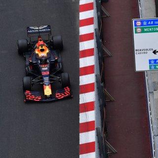 Straftijd kost Verstappen tweede plek Monaco