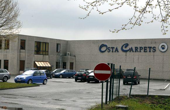 Het Deerlijkse bedrijf Osta Carpets.