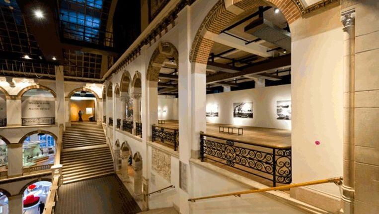 Interieur van het Tropenmuseum in Amsterdam. © anp Beeld