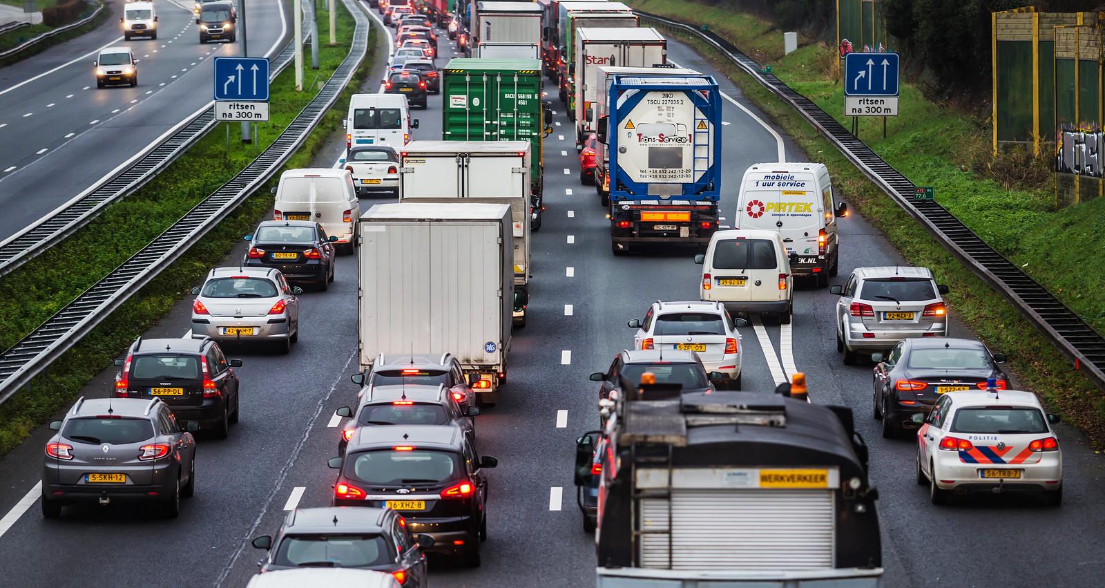 Het verkeer op de snelweg is de afgelopen jaren toegenomen.