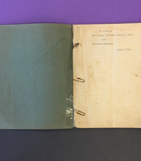 Vroegste manuscript Reve naar Literatuurmuseum