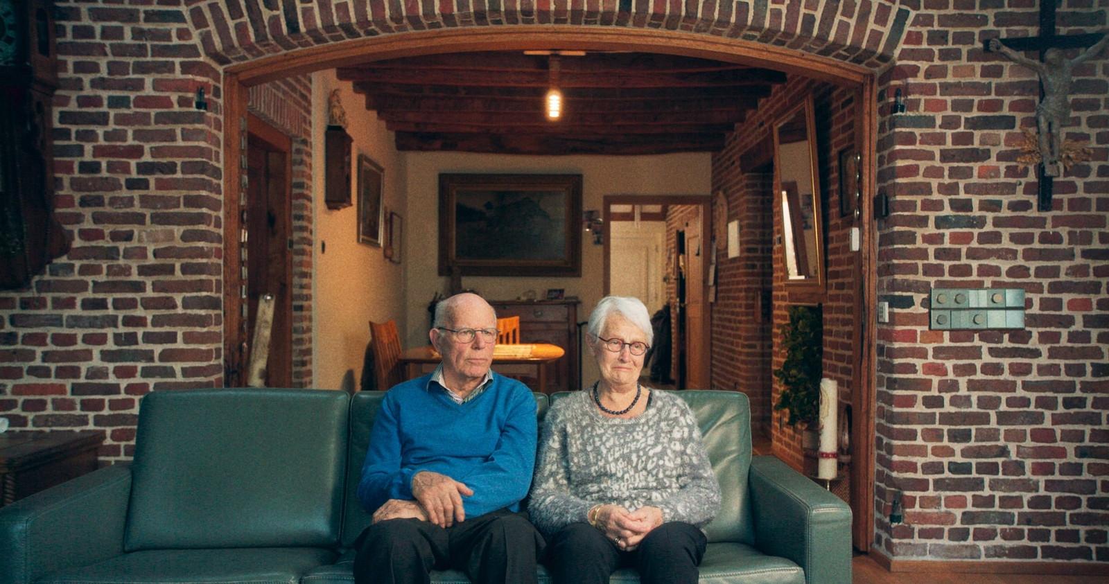 Jo (88) en Marijn (86) uit Knegsel, de opa en oma van filmmaakster Marieke Widlak