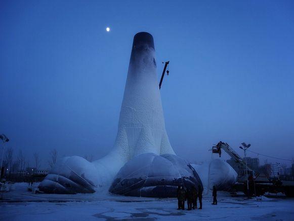De Ice Flamenco Tower.