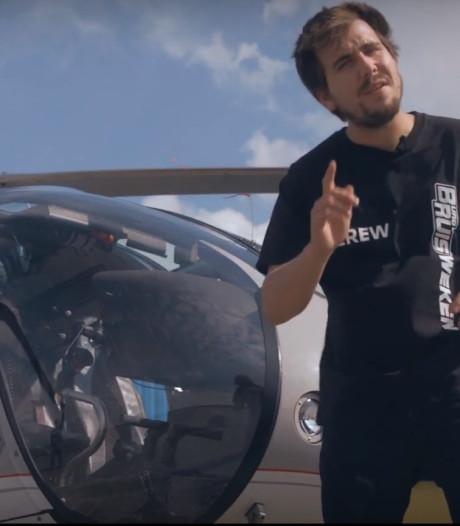 VIP-actie voor eerstejaars: helivlucht over Zwolle tijdens HBO Bruisweek