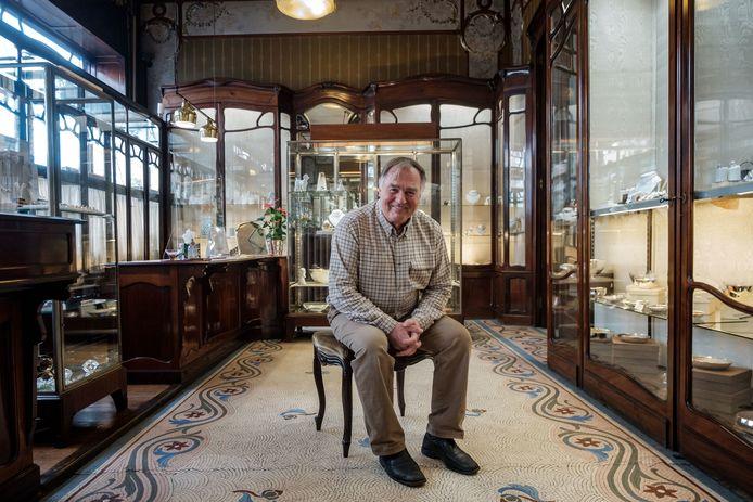 Jean van der Haegen werkt als vijfde generatie in juwelierszaak Ruys.