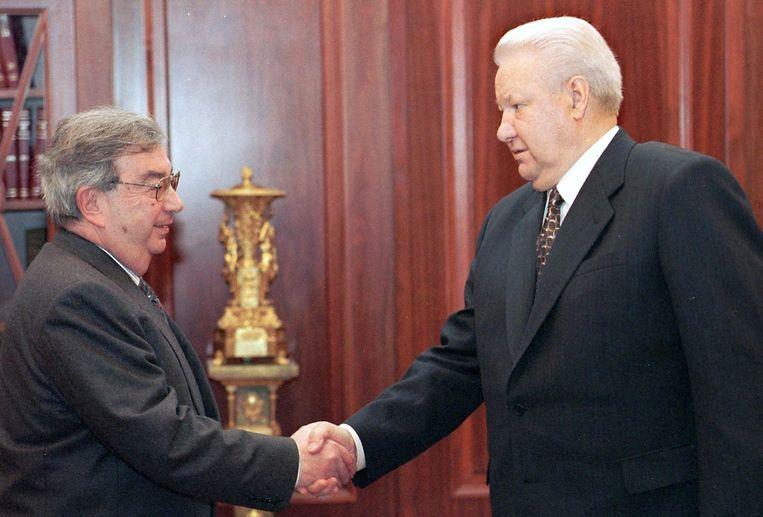 Primakov werd in 1999 ontslagen door Boris Jeltsin.