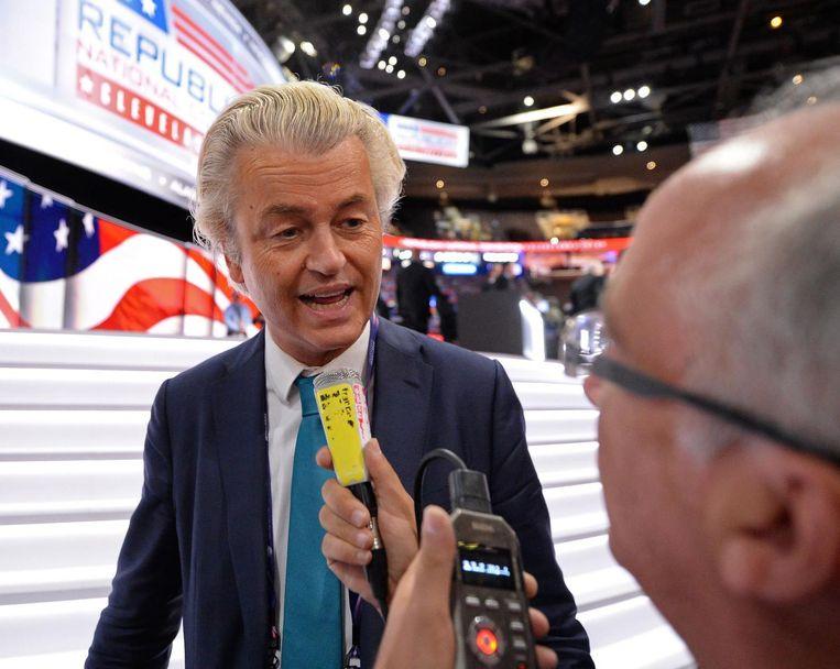 Wilders in Cleveland. Beeld reuters