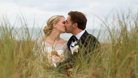 In het Deense plaatsje Tønder trouwen veel gemengde EU-koppels.