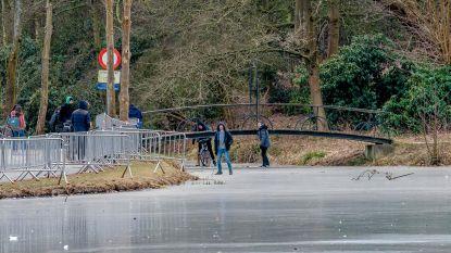 Jongeren rijden scheve schaats