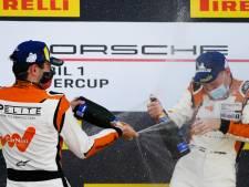 Dolblije Larry ten Voorde na winst op Silverstone: 'Hier werken we allemaal zo keihard voor'