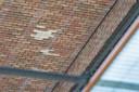 Stille getuigen van losgelaten steenstrips op station Breda.
