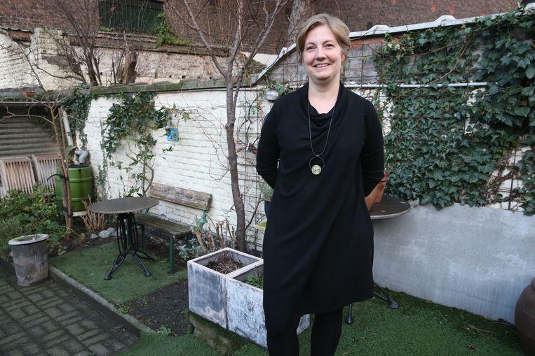 Eline van café Rokkebolle mag geen terras uitbaten in de tuin van het café