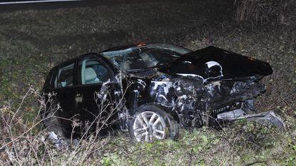 Afrit E17 afgesloten na dubbel ongeval