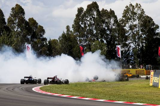 Beelden van de Grand Prix in Barcelona.