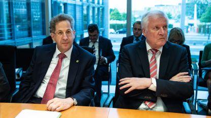 Chef Duitse staatsveiligheid die twijfelde aan Chemnitz-video, moet opstappen