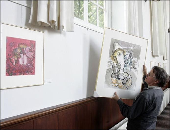 'Werk van Marc Chagall heeft een enorme aantrekkingskracht ... Chagall Roosendaal
