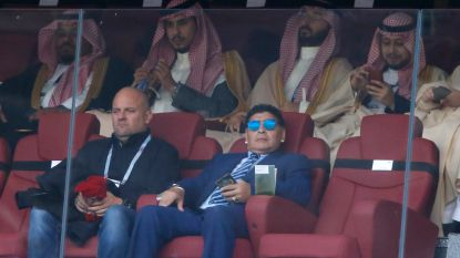 """Maradona niet opgezet met WK 2026: """"De Mexicanen verdienen het niet, ze winnen twee keer op een WK en moeten dan naar huis"""""""