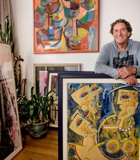 Kunstverzamelaar Rob Baert steunt Het Gele Huis Princenhage met expositie en veiling