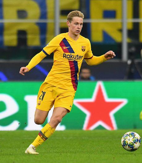 Ook Frenkie de Jong treurt na uitschakeling Ajax