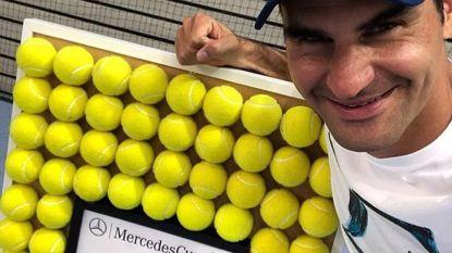 Federer: 98ste titel en opnieuw nummer 1