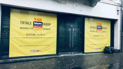 In tien jaar is bijna 1 op 5 winkels in Aalst verdwenen