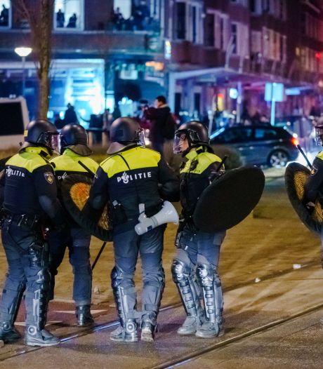 LIVE   Tien agenten gewond door geweld bij coronarellen in Rotterdam, ook in België vrees voor protesten
