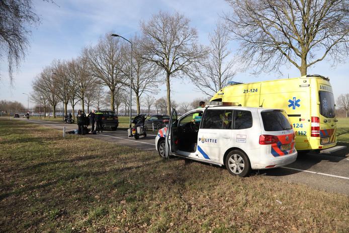 Ongeval in Volkel.