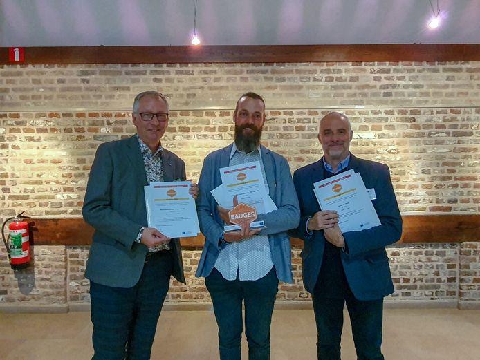 De internationale Badges Award werd georganiseerd door acht belangrijke Europese instellingen en werd uitgereikt in Landcommanderij Alden Biesen.