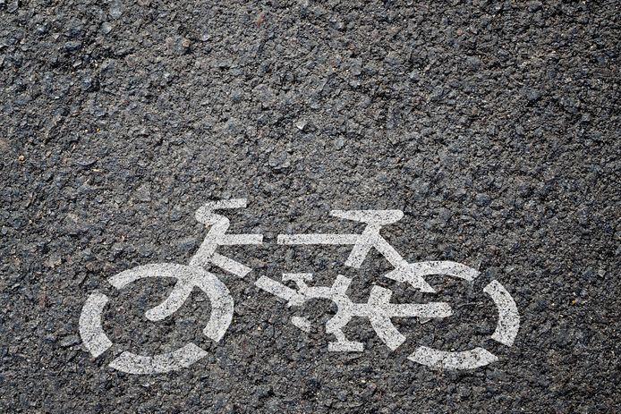 stockadr fiets fietspad Bicycle sign