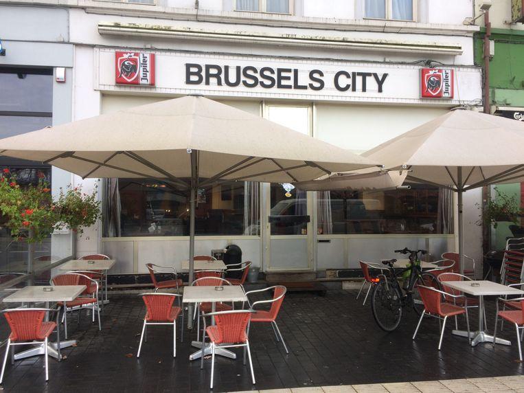 De man was een vaste klant van café 'Brussels City' op het stationsplein in Aalst.
