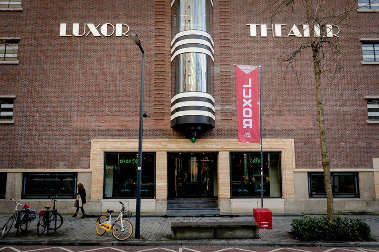 Het nieuwe Luxor Theater, waar de uitreiking plaatsvond.  Beeld ANP XTRA / Robin van Lonkhuijsen