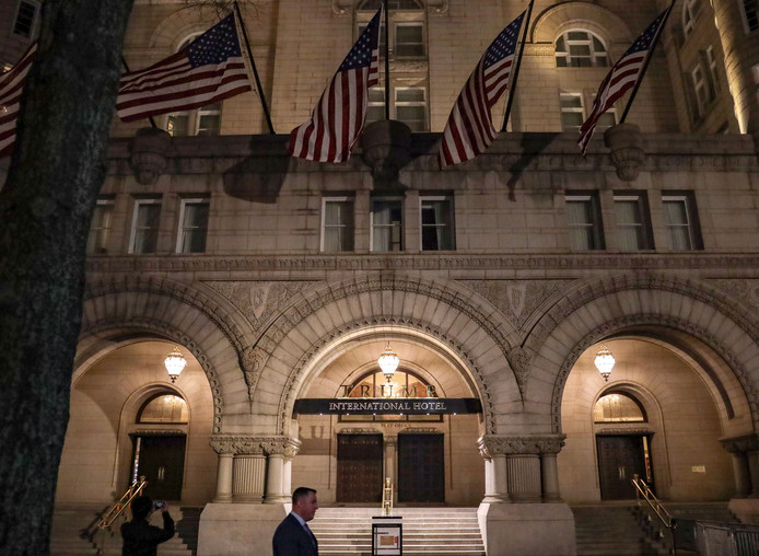 Het Trump hotel in Washington, DC.