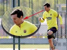 Nieuwe look: Messi zweert na vier jaar baard af