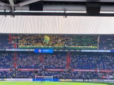'Knuffelregen' voor zieke kinderen tijdens Feyenoord-ADO Den Haag