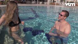 """""""Sorry papa!"""" Justine & Gilles beleven de tijd van hun leven tijdens hun vakantie"""