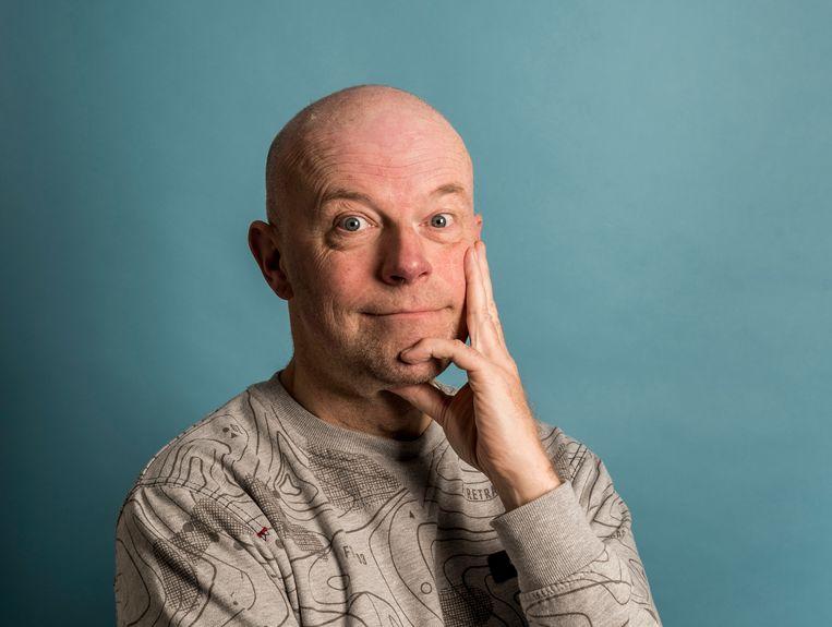 Wetenschapsredacteur Maarten Keulemans. Beeld Eva Faché