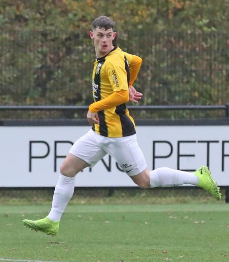 Jong Vitesse sluit slechte eerste helft van competitie af met nederlaag