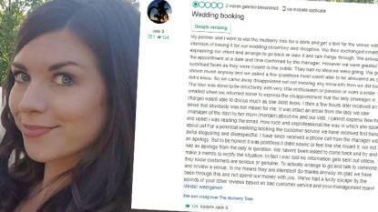 Manager restaurant scheldt bruid uit in mail aan collega. En stuurt die per ongeluk naar vrouw zelf. Verschroeiend antwoord blijft niet uit