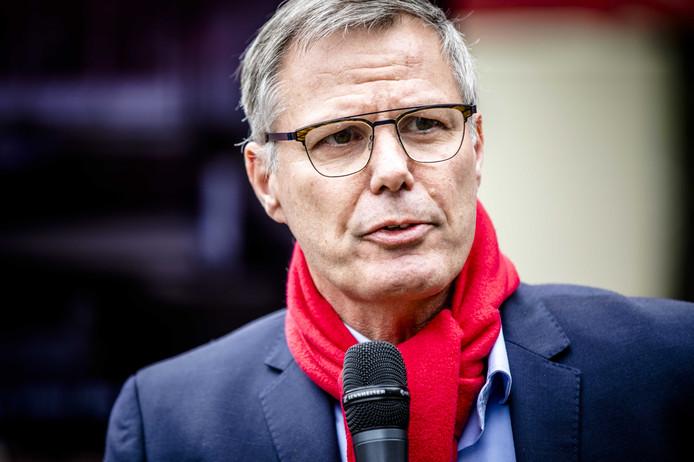 FNV-voorzitter Han Busker.