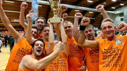 Baskettende Vedetten halen 15.000 euro op voor het goede doel
