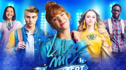 Ketnet-serie '#LikeMe' komt in concert naar de Lotto Arena