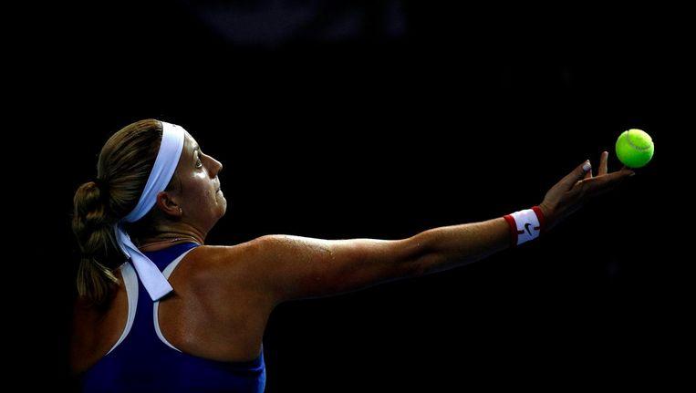 De Tsjechische tennister sPetra Kvitova Beeld anp