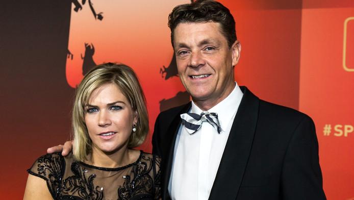 Jeroen Dubbeldam en zijn vriendin Annelies Vorsselmans.