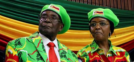 Woede en spot over cadeau Grace Mugabe